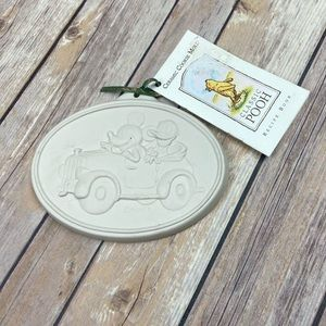 Ceramic cookie mold - Classic Pooh Mickey & Donald